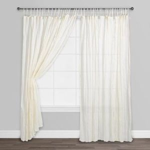 World Market Crinkle Curtain Panel